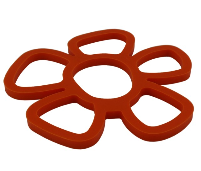 Flower Silicone Trivets(HS-1058)