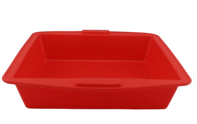 Silicone Square Cake Pan Bakeware(HS-1010)
