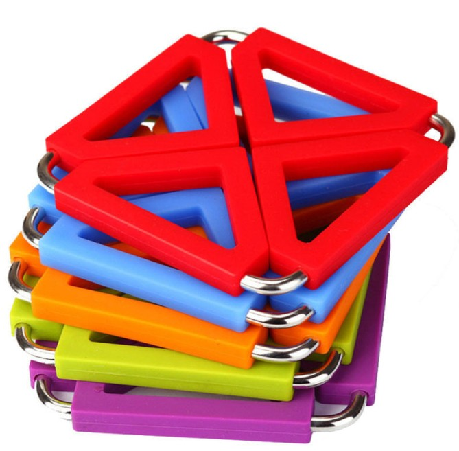 Silicone Stainless Steel Folding Trivet(HS-1120)