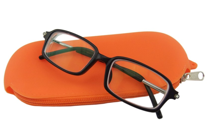 Silicone Rectangle Eyeglass Bag(HS-1022)