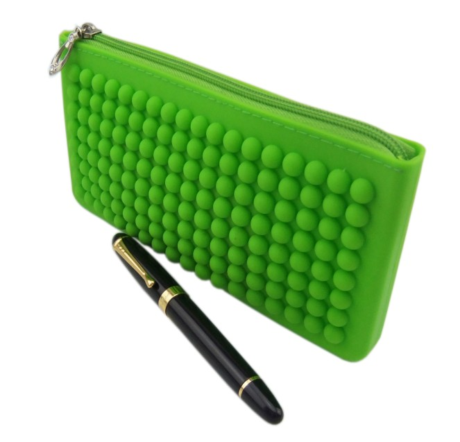 Silicone Pencil Bag(HS-1023)