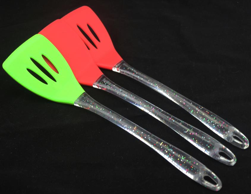 Kitchen Tool Silicone Turner(HS-1151)